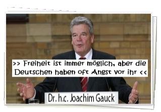 Dr. h.c. Joachim Gauck